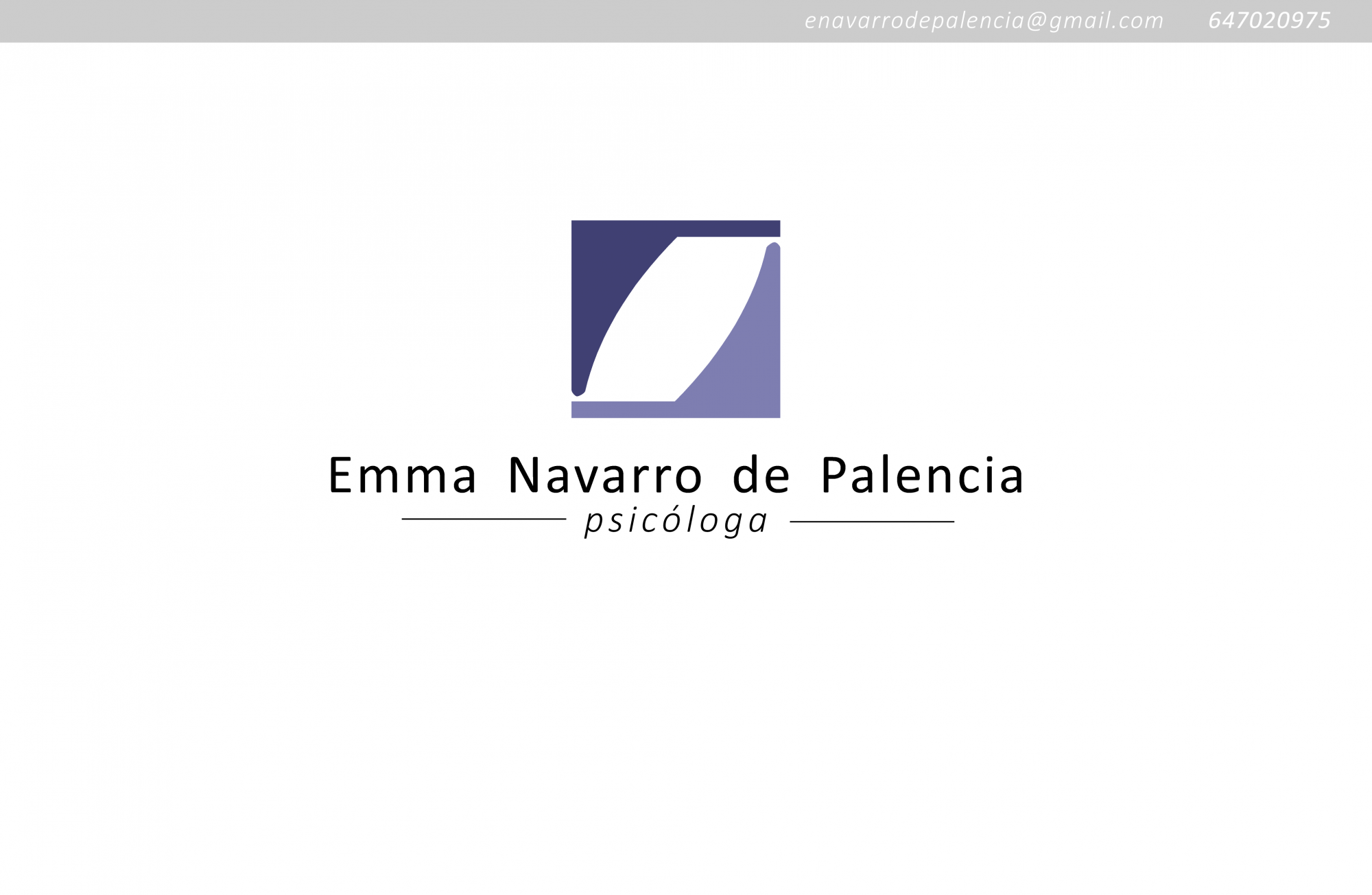 Psicóloga Emma Navarro de Palencia